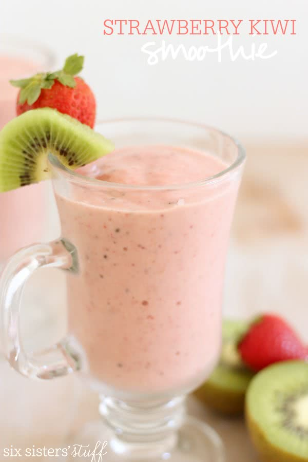 Strawberry-Kiwi-Smoothie