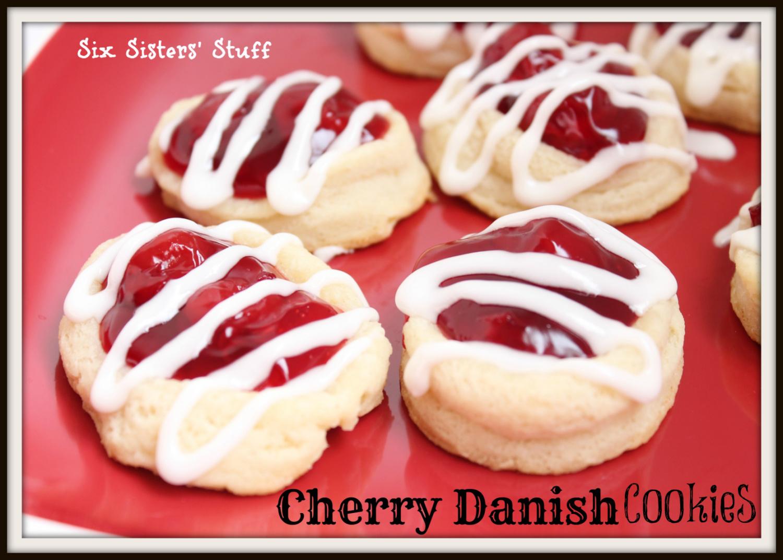 Cherry Danish Cookies Recipe