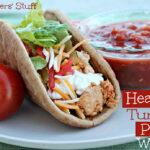 Healthy Turkey Pita Wrap