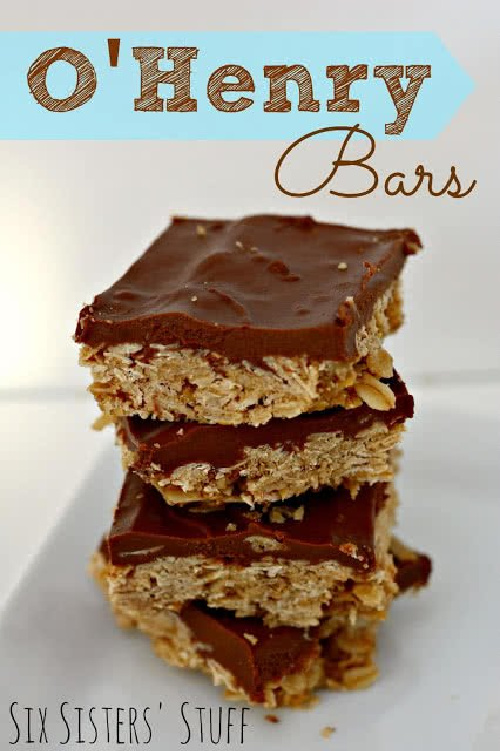 O'Henry Chocolate Oatmeal Bars Recipes