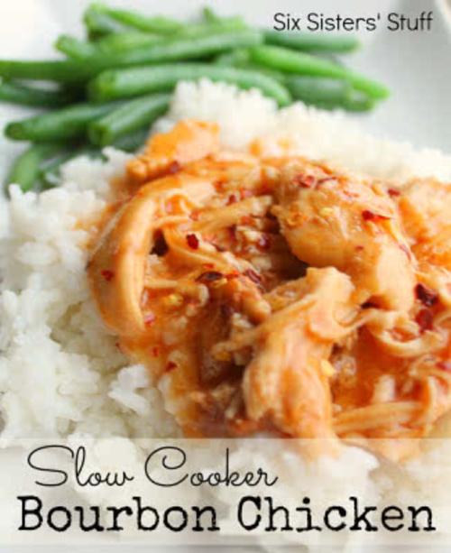 Slow Cooker Bourbon Chicken Recipe