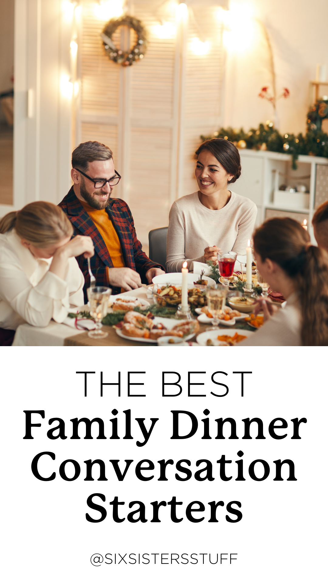 50 Family Dinner Conversation Starters (Questions to ask your kids)