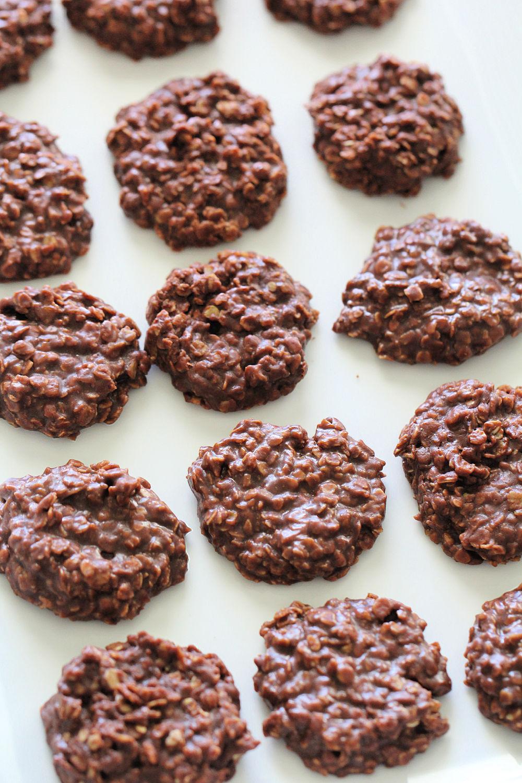 Nutella No Bake Cookies Recipe