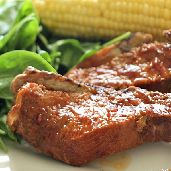Slow Cooker Honey Ribs - SixSistersStuff