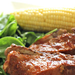Slow Cooker Honey Ribs on SixSistersStuff