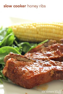 Slow Cooker Honey Ribs Recipe