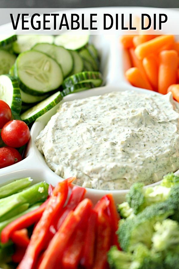 Vegetable Dill Dip Recipe