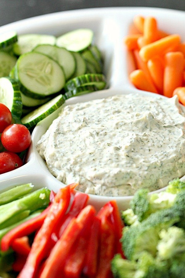 Vegetable Dill Dip Recipe