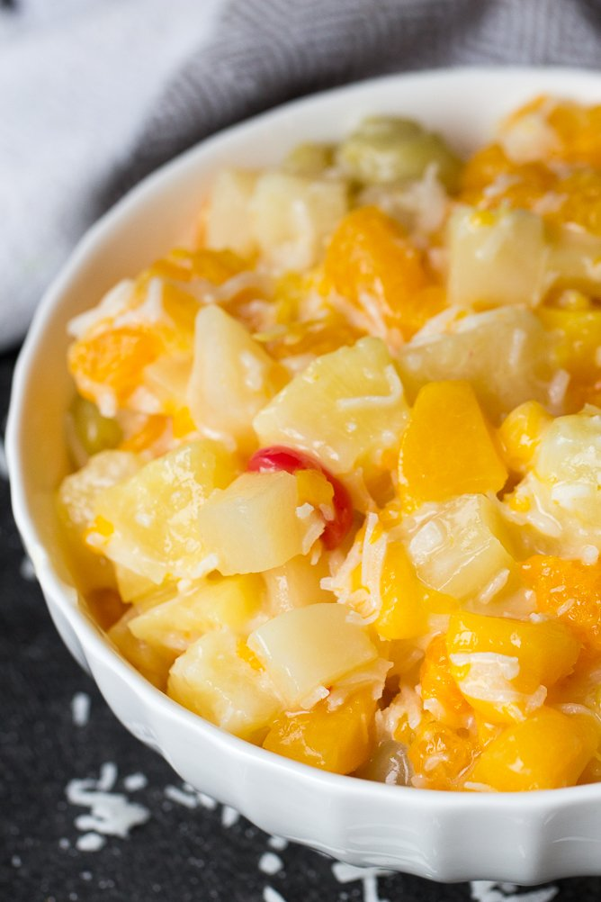 Easy Ambrosia Fruit Salad