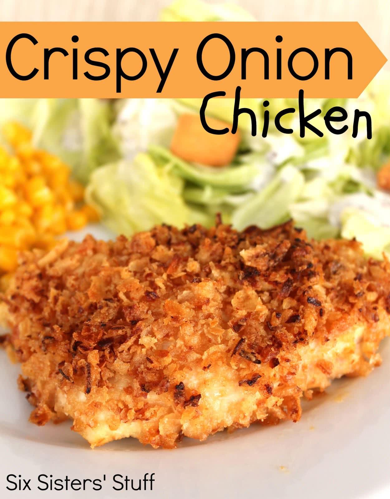 Crispy Onion Chicken Recipe