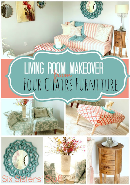 Merveilleux Living Room Makeover By Four Chairs Furniture