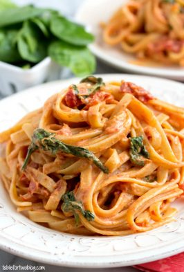 cheesecake-factory-sundried-tomato-pasta-copycat-tablefortwoblog-1
