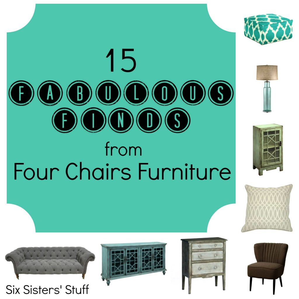 15 Fabulous Finds From Four Chairs Furniture Six Sisters 39 Stuff
