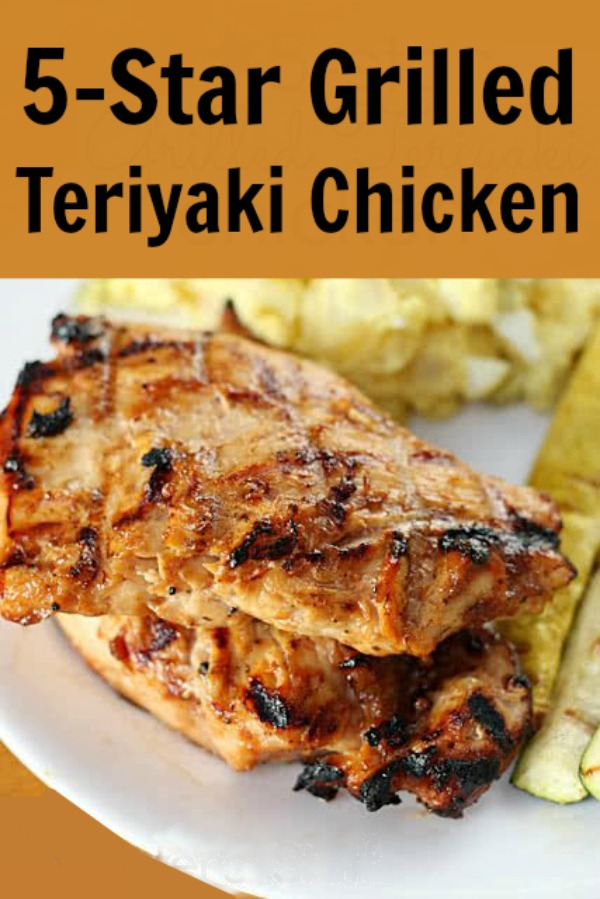 easy teriyaki chicken recipe for the grill