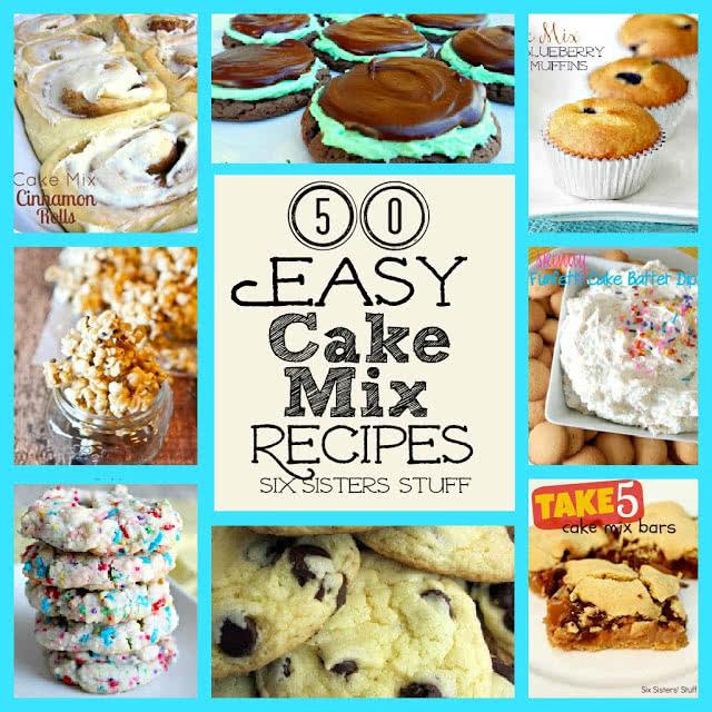50 Easy Cake Mix Recipes