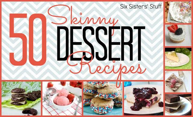 50 Skinny Dessert Recipes