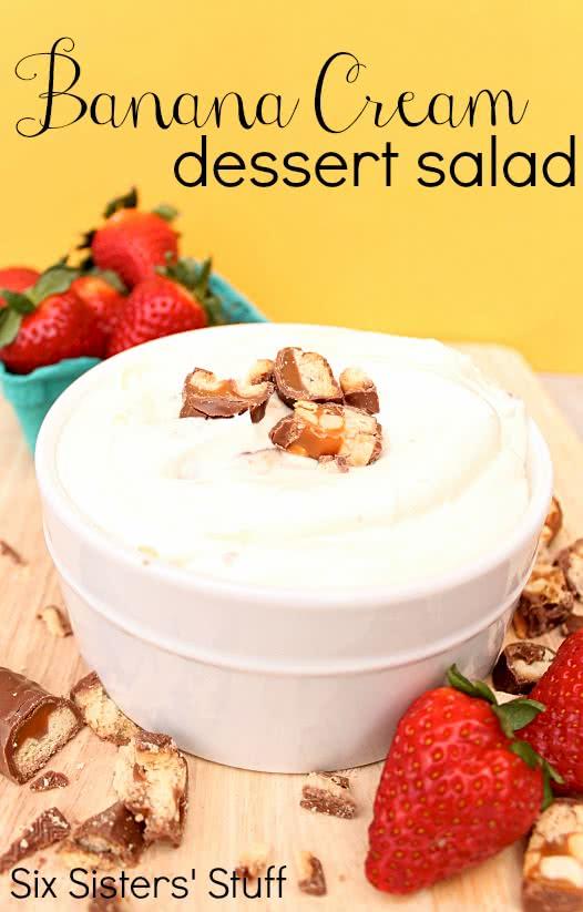 Banana Cream Dessert Salad