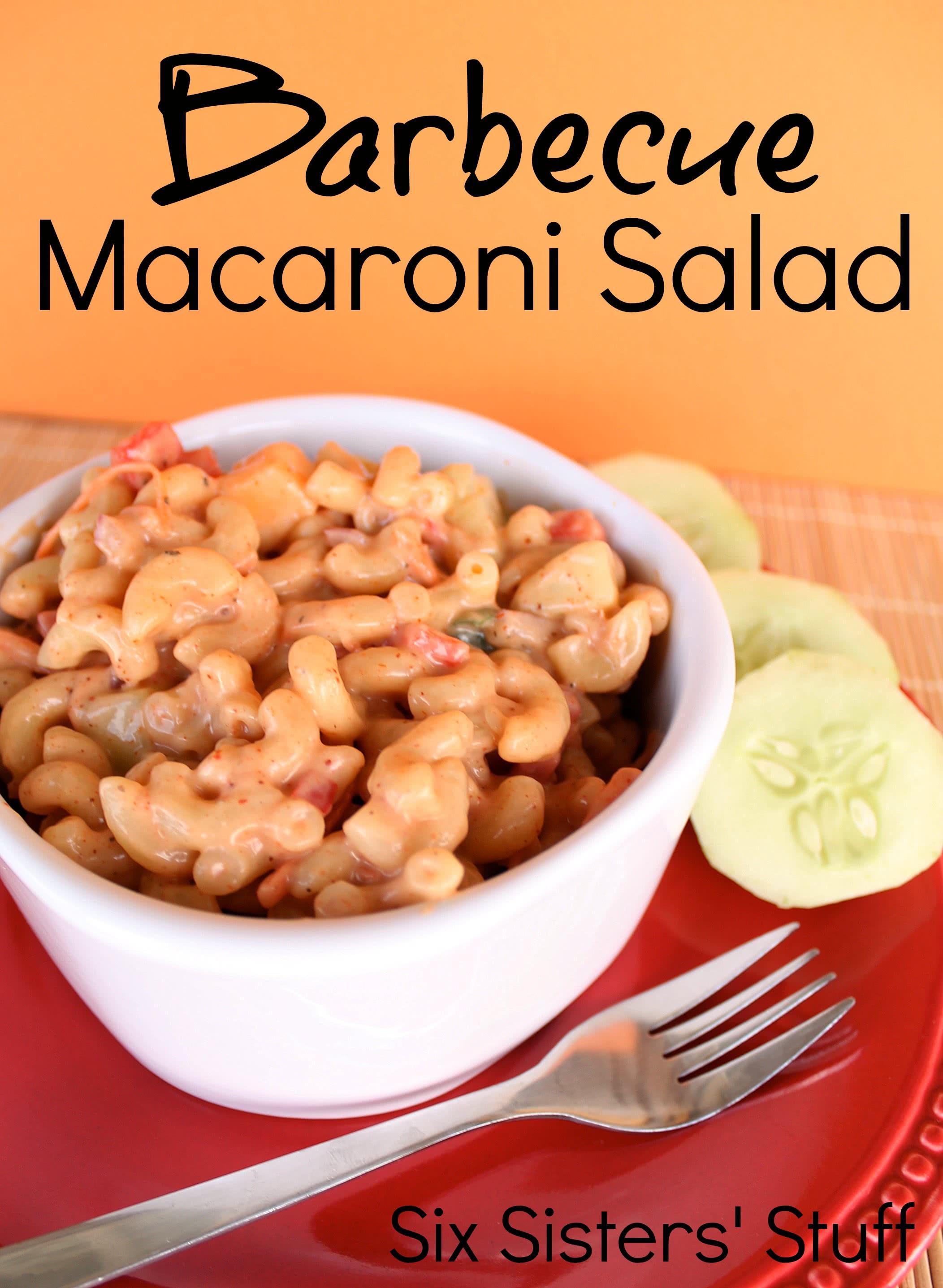 Barbecue Macaroni Salad Recipe