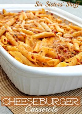 Easy Cheeseburger Casserole
