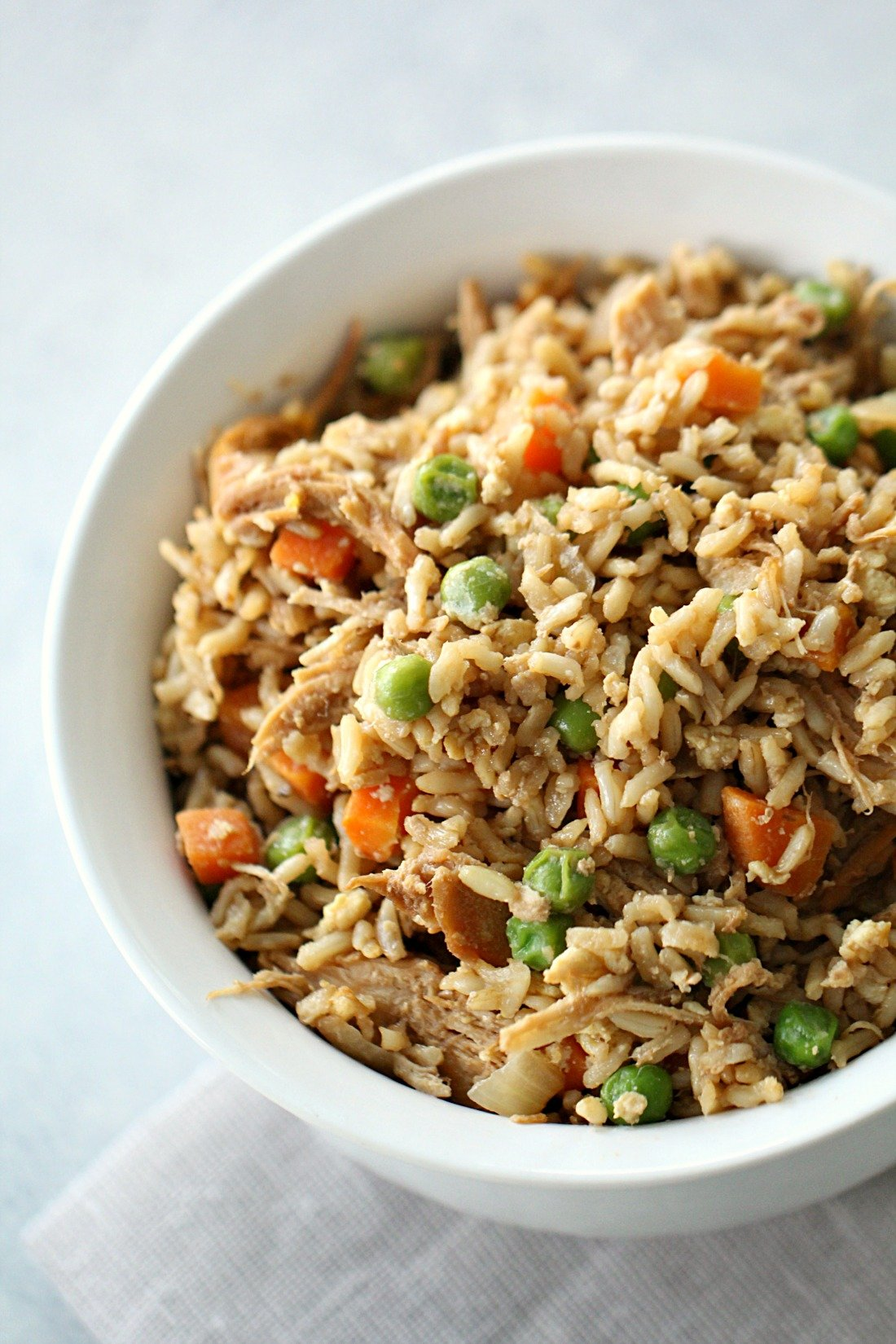 Chinese Chicken Fried Rice Recipe [Better Than Take Out]