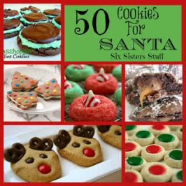 50 Delicious Cookies for Santa