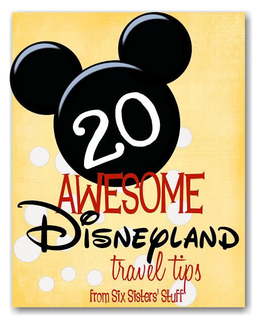 20 Awesome Disneyland Travel Tips