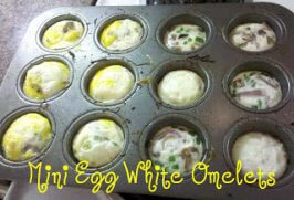 Healthy Meals Monday: Mini Egg White Omelets Recipe
