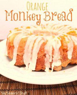 Orange Monkey Bread Recipe