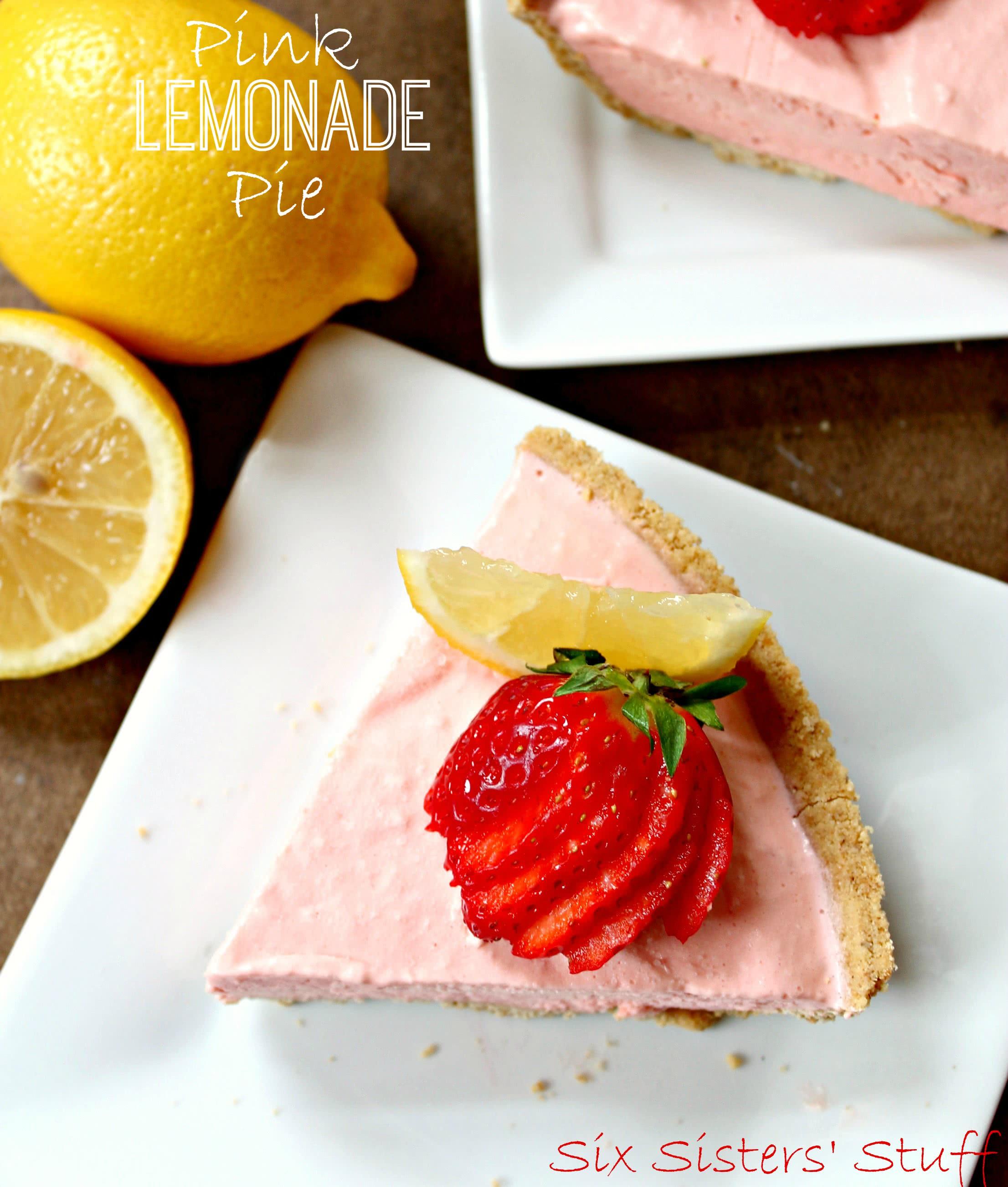 Frozen Pink Lemonade Pie Recipe