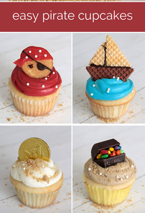 If You Are Throwing A Pirate Party Any Time Soon Have To Check Out These Cupcakes So Easy And Dang Cute