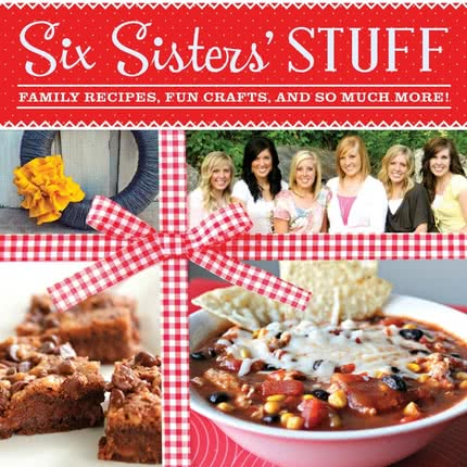 Announcing the FIRST COOKBOOK from Six Sisters' Stuff!