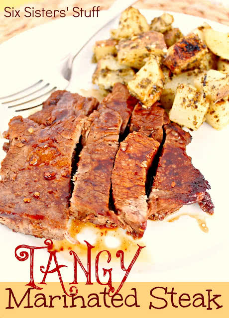 Tangy-Marinated-Steak
