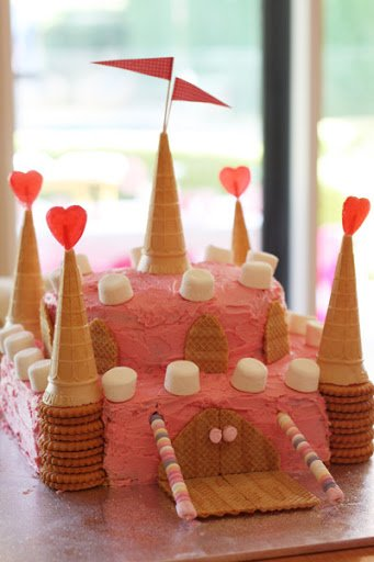 33 Fairy Princess Castle Cake If You Have A Or Prince Living At Your House This Is The Perfect Birthday It Looks Complicated But Its