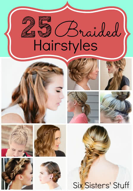 Outstanding 25 Easy Hairstyles With Braids Six Sisters Stuff Six Sisters Stuff Natural Hairstyles Runnerswayorg