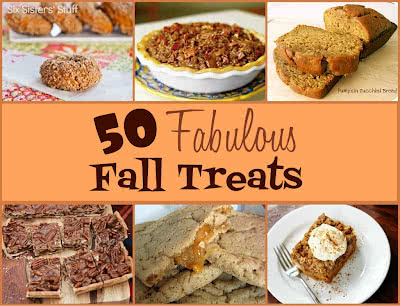 50 Fabulous Fall Treats!