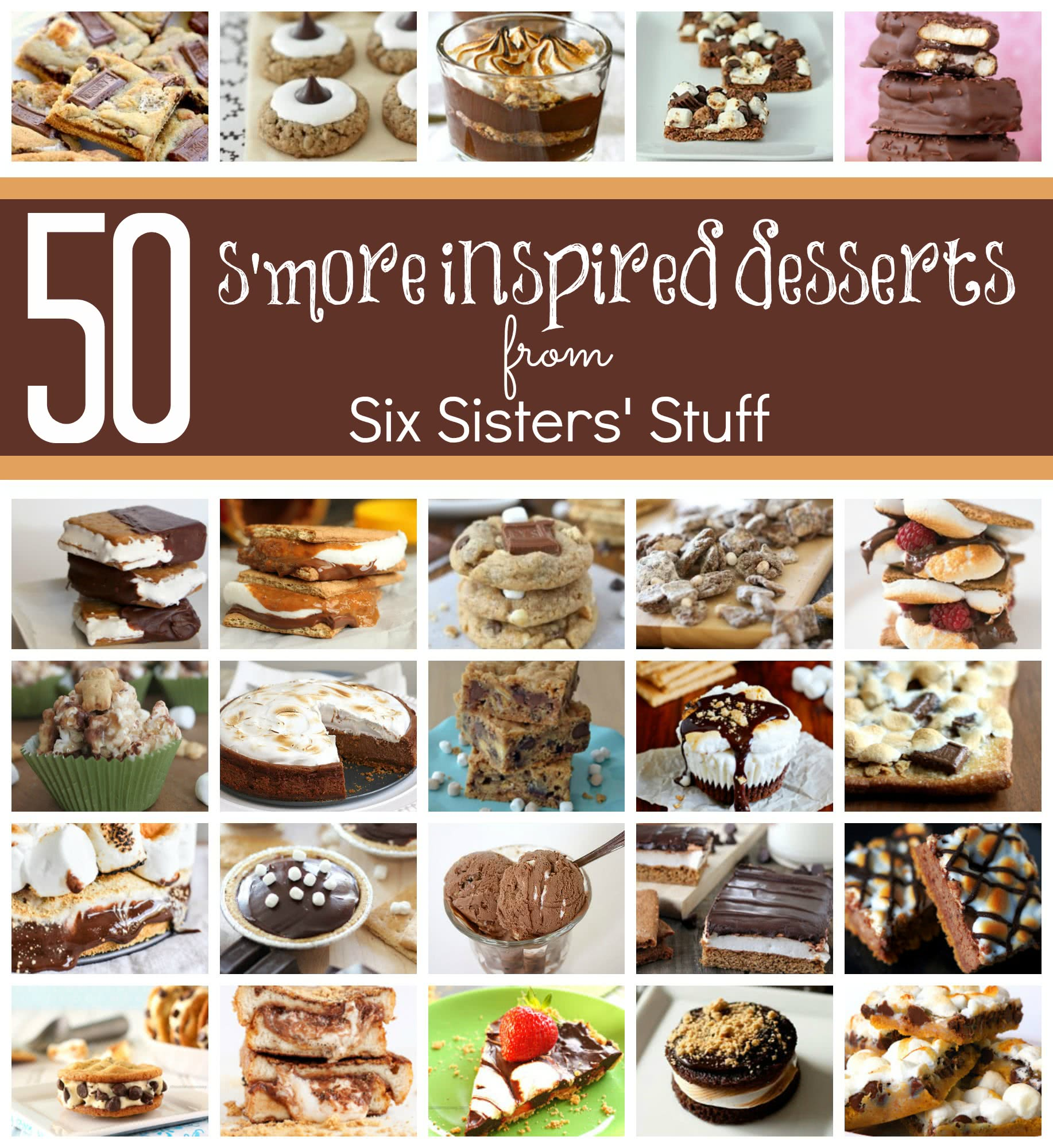 50 S'more Inspired Desserts