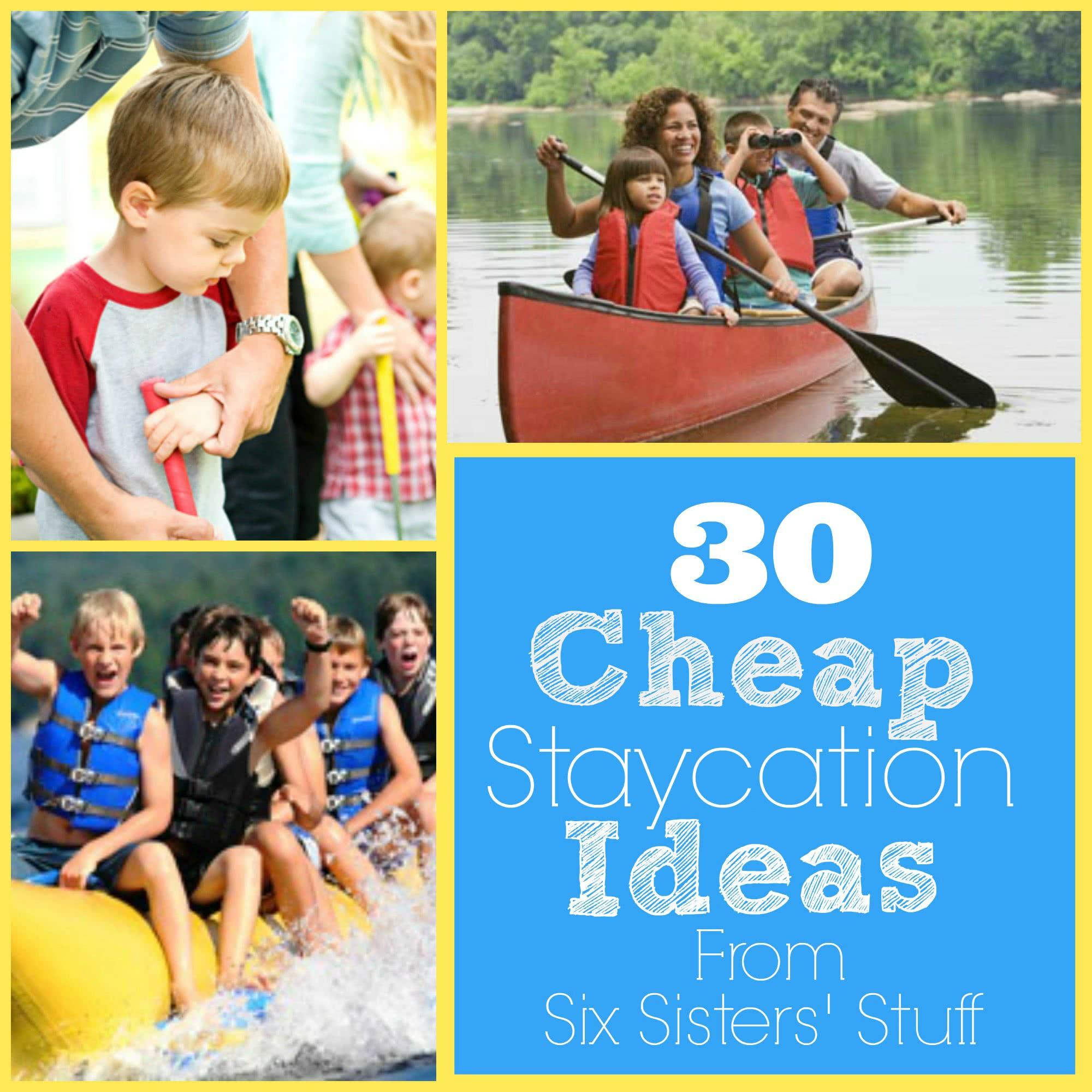 30 Cheap Summer Staycation Ideas