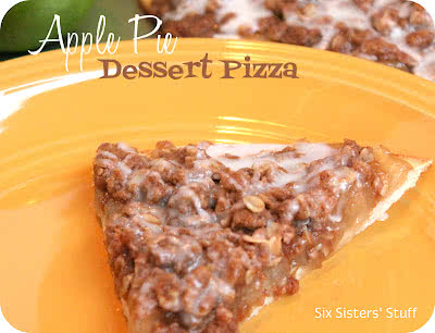 Apple Pie Dessert Pizza Recipe