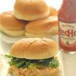 Buffalo Chicken Salad Sandwiches on SixSistersStuff.com