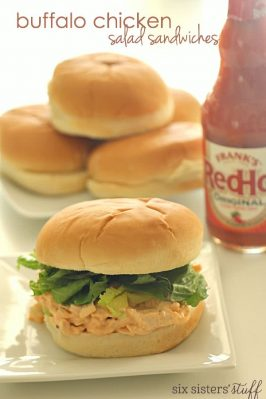 Buffalo Chicken Salad Sandwiches Recipe