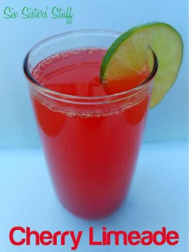 Sonic's Copycat Cherry Limeade Drink