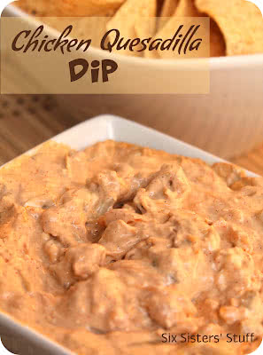 Chicken Quesadilla Dip Recipe