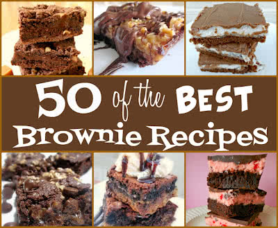 50 of the Best Brownie Recipes