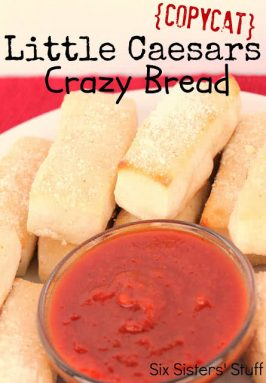 Copycat Little Caesars Crazy Bread Recipe