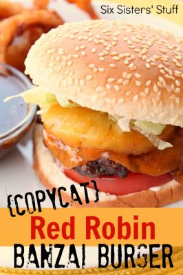 Copycat Red Robin Banzai Burger Recipe