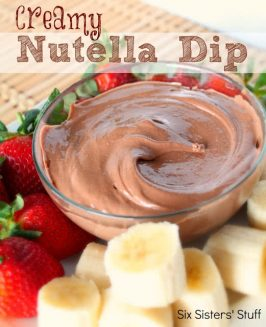 Creamy Nutella Dip Recipe