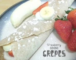 Healthy Meals Monday: Strawberry Banana Crepes