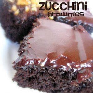 Dark Chocolate Zucchini Brownies Recipe