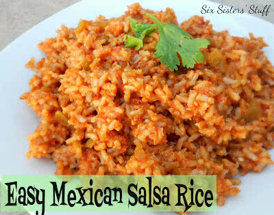 Easy Mexican Salsa Rice
