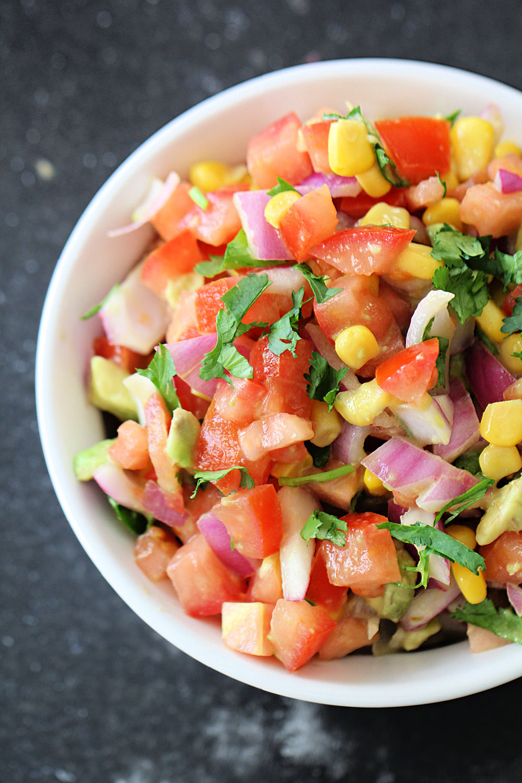 Fresh Lime Salsa (Easy Homemade Salsa) Recipe